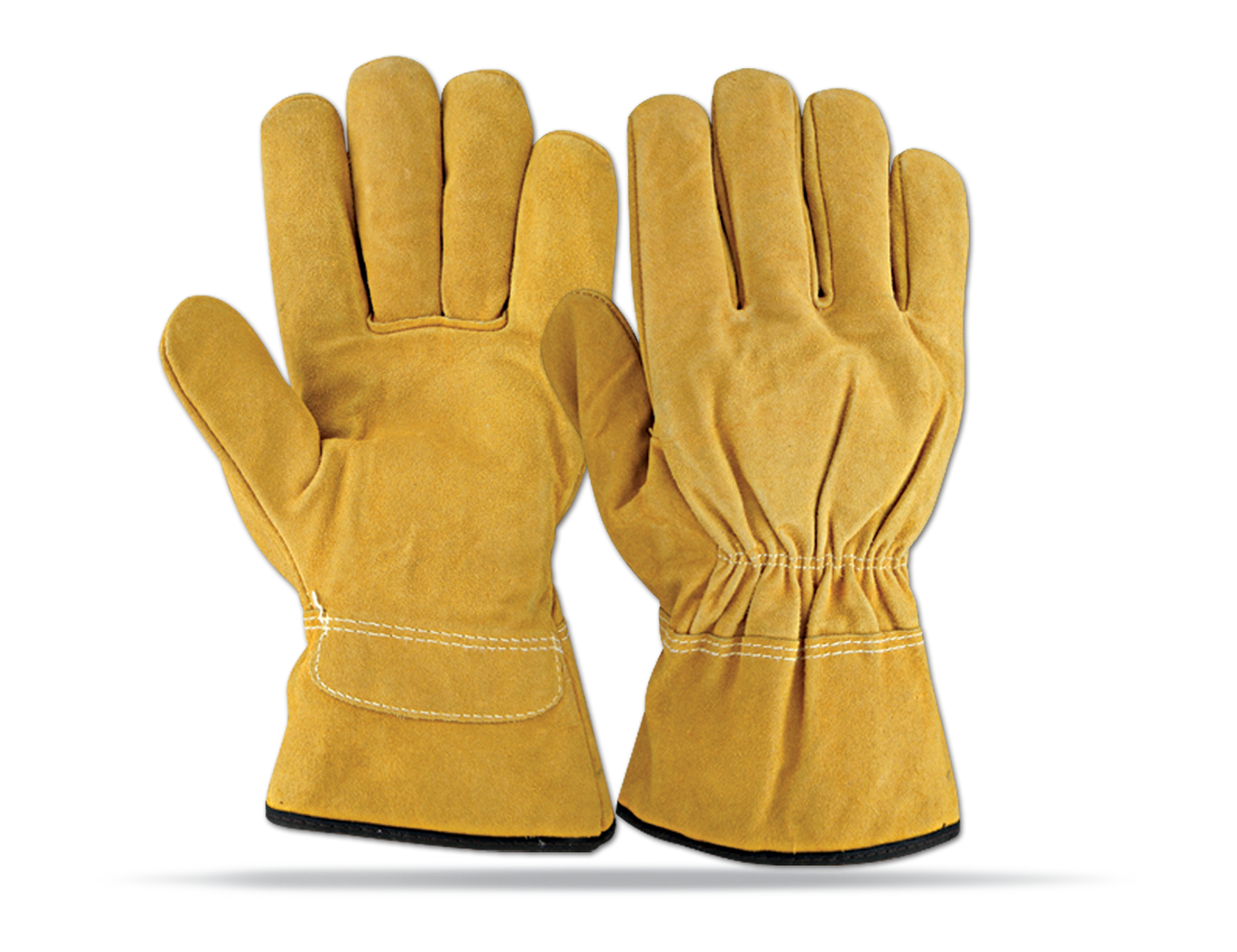 Cow Split Leather Gloves Arshad Brothers